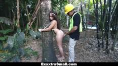 ExxxtraSmall – Tree Hugging Teen Fucks Lumberjack